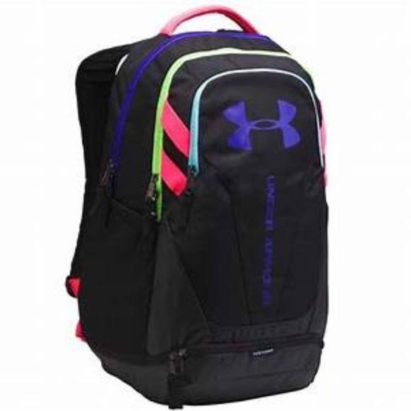 UNDER ARMOUR STORM Black HUSTLE 3.0 Backpack NWT b2db6f6e51b07